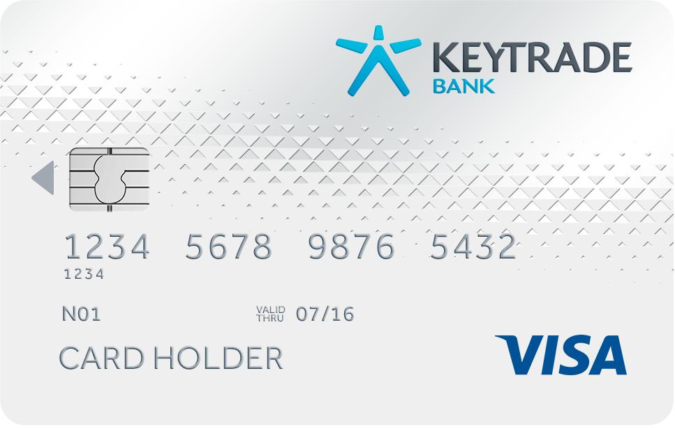 keytrade gratis creditcard