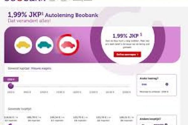 Autolening BeoBank 0.99 % JKP