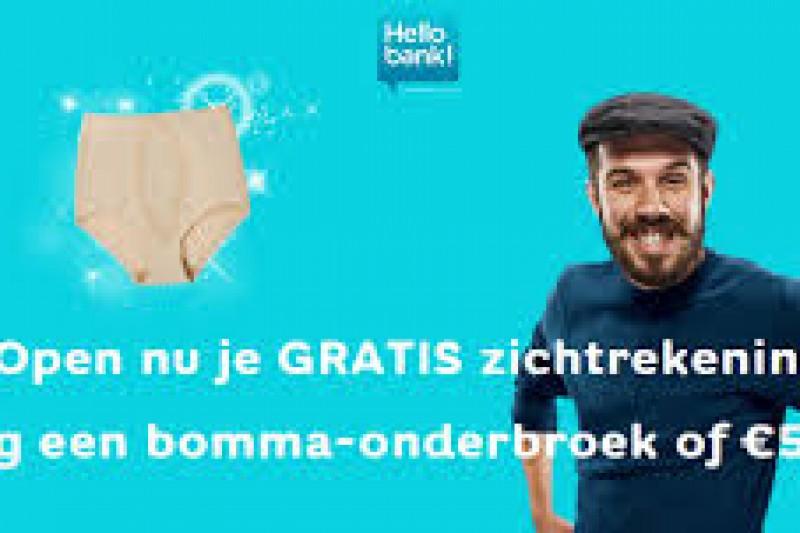 Knaller promotie Hellobank Zichtrekening
